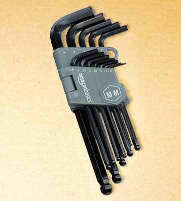 Review of AmazonBasics AMZ1715 Hex Key Wrench Set (26-piece, Inch/Metric)