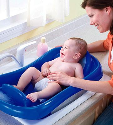 Review of The First Years Y3155 Sure Comfort Deluxe Toddler Tub with Sling