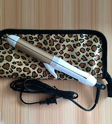 Review of 6th Sense Styling Technology 2-in-1 Mini Travel Flat/Curling Iron Dual Voltage 374 Degree Temperature Nano Titanium