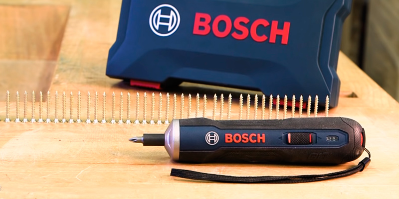 Review of Bosch Smart Cordless Screwdriver Set