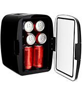 Magnasonic Portable 8 Can Mini Fridge Cooler & Warmer