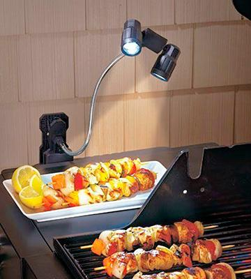 Review of Chef Buddy Adjustable LED Barbeque Grill Light