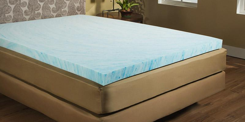 Beautyrest M10090-00847-OS 3-inch Gel Memory Foam in the use