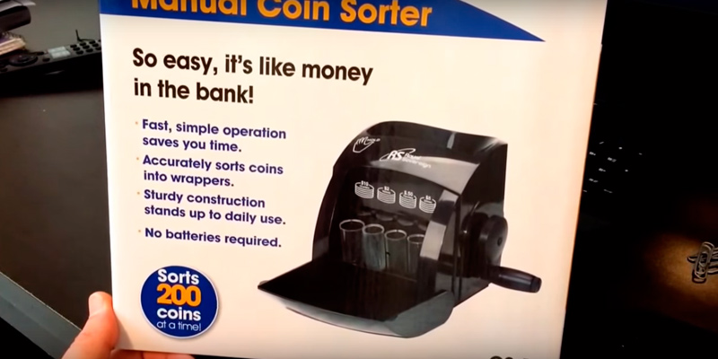 Royal Sovereign Manual Coin Sorters and Counters application