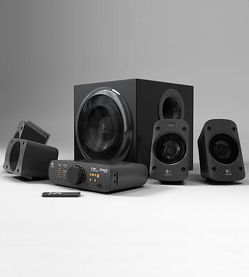 Review of Logitech Z906 5.1 Surround Sound Speaker System