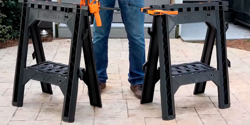Review of WORX WX065 Clamping Sawhorse Pair