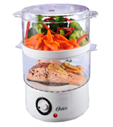 Oster CKSTSTMD5-W-015 5-Quart Food Steamer