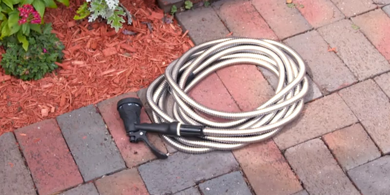 Review of Forever Steel Hose 50' 304 Stainless Steel Garden Hose
