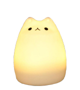 Umiwe Children Night Light Silicone Cat Lamp