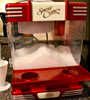 Review of Nostalgia RSM602 Countertop Snow Cone Maker