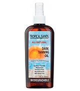 Tropical Sands Dark Tanning Oil Coconut Oil for Tanning Bed