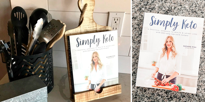 Review of Suzanne Ryan Simply Keto: A Practical Approach to Health & Weight Loss, with 100+ Easy Low-Carb Recipes