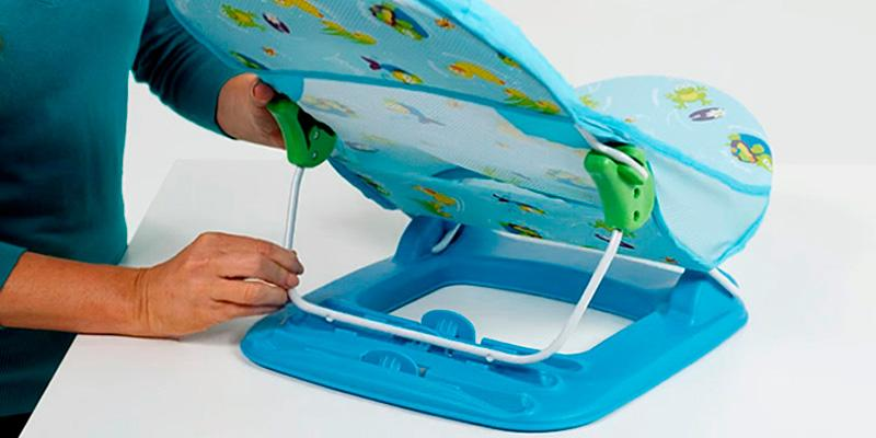 Review of Summer Infant Deluxe Bather Multiple recline positions