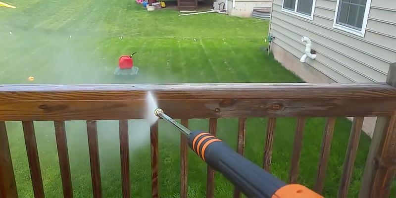 Generac 6922 Gas Powered Pressure Washer in the use