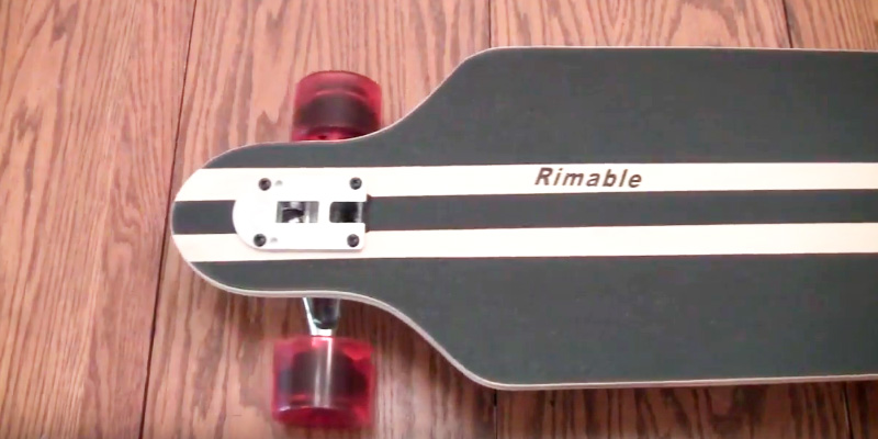 Rimable Drop-through Longboard application