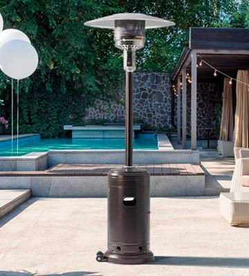 Review of PAMAPIC Patio Heater 46000 BTU Commercial Gas Outdoor Heater