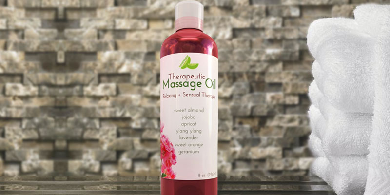 Honeydew Therapeutic Massage Oil in the use