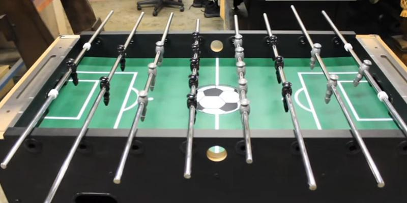 Hathaway Primo Soccer Table in the use