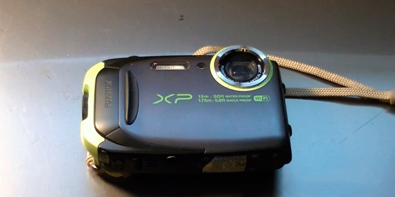 Review of Fujifilm FinePix XP80 Waterproof Digital Camera