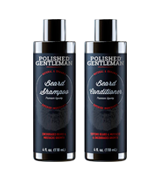 Polished Gentleman Beard Growth Shampoo and Conditioner Set