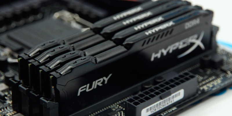 Kingston HyperX FURY DDR4 2400MHz (PC4-19200) in the use