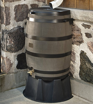 Review of RTS Companies Inc Accents Rain Water Collection Barrel
