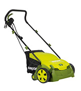 Sun Joe AJ801E Electric Scarifier with Collection Bag