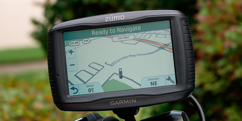 Review of Garmin Zumo 595LM Premium motorcycle GPS