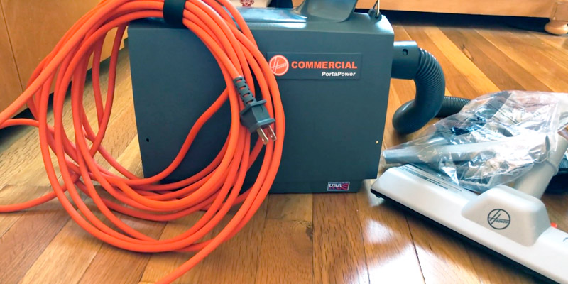 Hoover Commercial CH30000 Commercial Canister Vacuum in the use