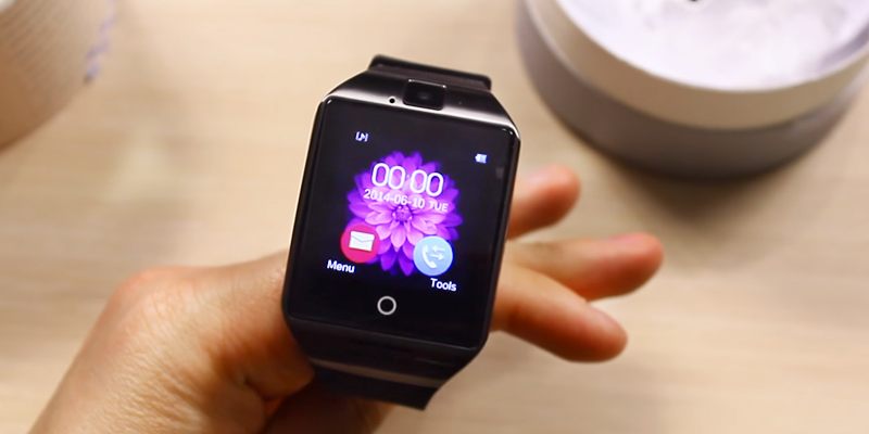 Review of Kindak Q18-black Bluetooth Smart Watch with Camera