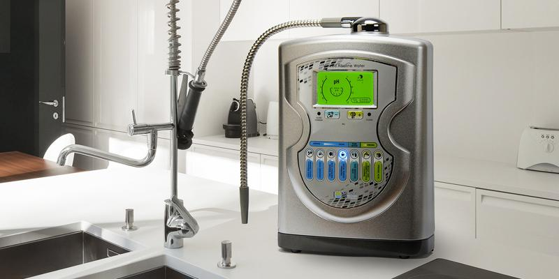 IntelGadgets IONtech IT-757 Alkaline Water Ionizer in the use