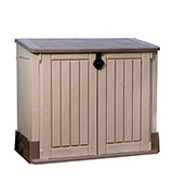 Keter Outdoor Resin Horizontal Storage Shed