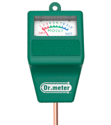 Dr.Meter Moisture Meter Hygrometer Moisture Sensor for Garden, Farm, Lawn Plants Indoor & Outdoor(No Battery Needed), S10