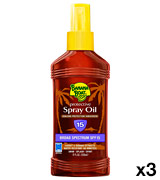 Banana Boat SPF 15 Protective Tanning Oil Spray
