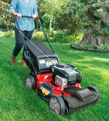 Review of Snapper SP80 Self Propelled Gas Mower