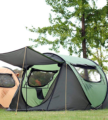 Review of FiveJoy Instant Popup Camping Tent