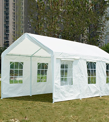 Review of Quictent Heavy Duty Party Tent Carport Canopy