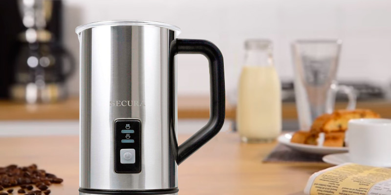 Review of Secura MMF-015 Automatic Electric Milk Frother and Warmer