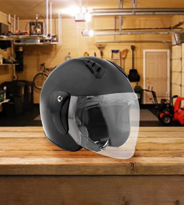 Review of Fuel Helmets SH-WS0015 Open Face Helmet with Shield