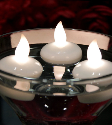 Review of AGPtEK HL0060-MBDE Flameless Floating Candles for Wedding