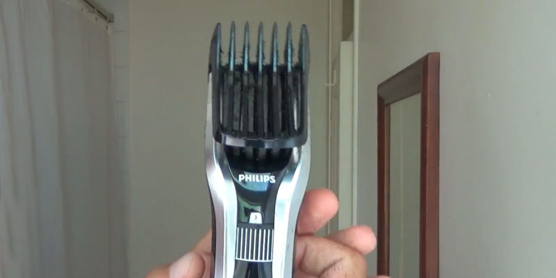 Philips Norelco 7100 HC7452/41 Hair Clipper application
