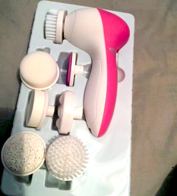 Review of PIXNOR P2016 Facial Massager with 7 Brush Heads