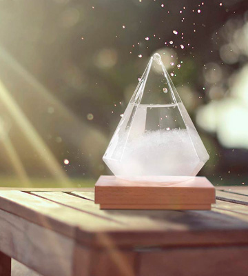 Review of FlyWallD Diamond Weather Predictor Storm Glass Bottle