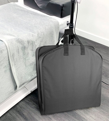 Review of WallyBags 60 Garment Bag luggage for suits and dresses