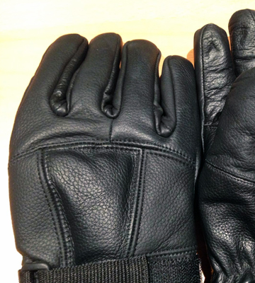 Review of Raider BCS-2660-L Leather Motorcycle Riding Gloves