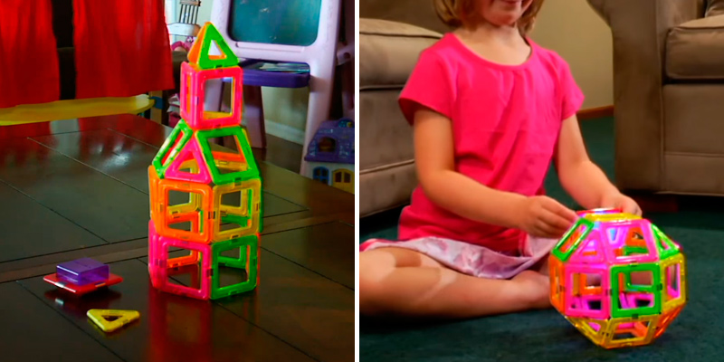 Review of Magformers Basic Set magnetic building blocks