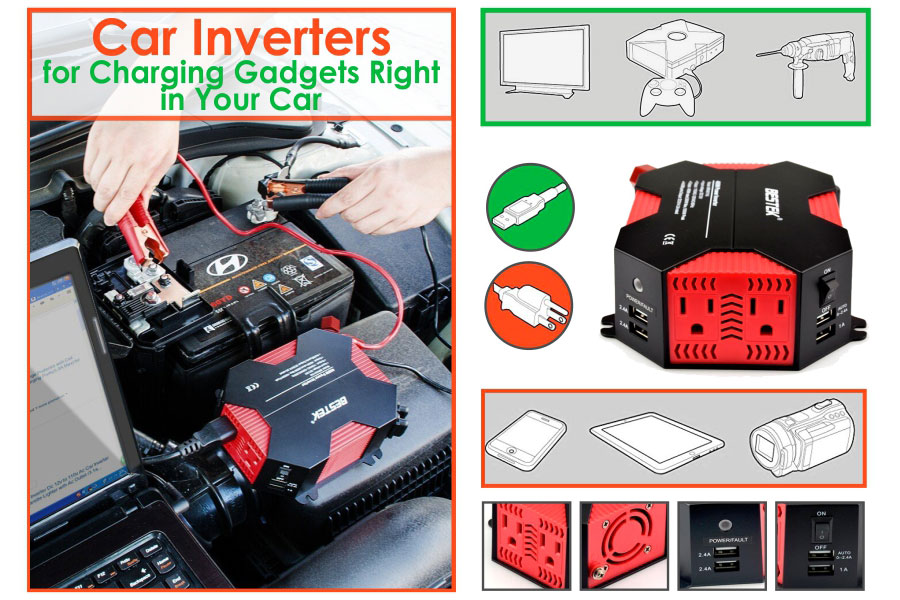Comparison of Car Inverters