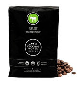 Kicking Horse Coffee Kick Ass Dark Roast, Whole Bean