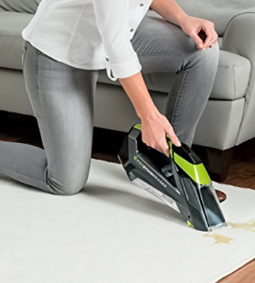 Review of Bissell 2003A Cordless Portable Carpet Cleaner