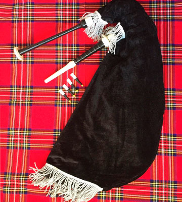 Review of AAR Scottish Goose Bagpipe with Black Velvet Bag and Silver Mounts